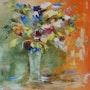 Bouquet reine Fantasie. Suzanne Monnot