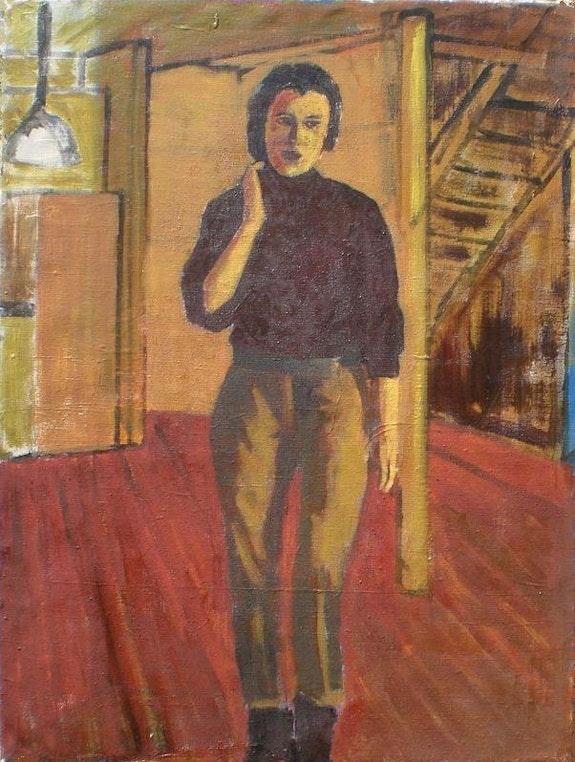 Painter in his studio. Lucien Willems Lucien Willems