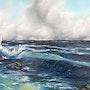 Surf de la tempête. Zimmermann, Gerd «The Artist»
