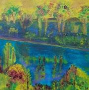 Autumn - Lac du causse. Arlette Sanz Dutheil