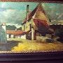 Landscape with houses. Bert Veenema