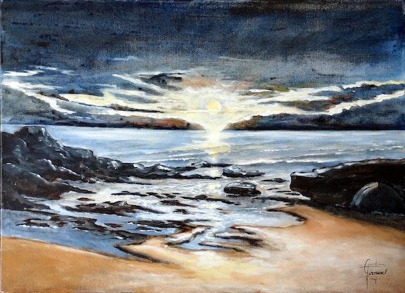Puesta del sol.  Daniel Giroux