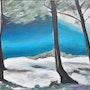 Creek, 2008, Acrylic on canvas. Sophie Demolins