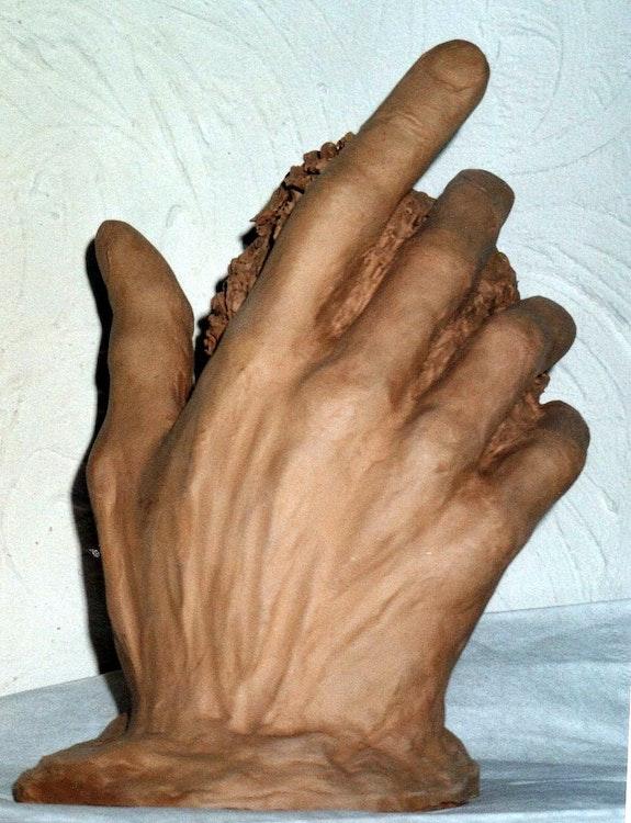 Rodin's hand after. M. V. Marie V.