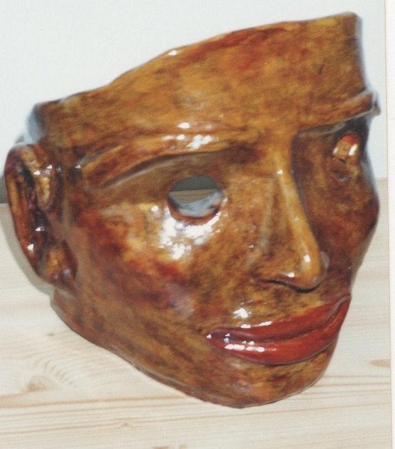 Inca Mask. M. V. Marie V.