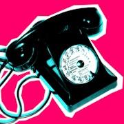 Telephone Pop Art Popics rose.. Ludovic Rocca