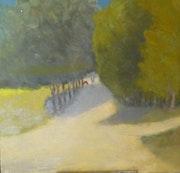 Alley trees 1, in Cyprus. Roger Hallett