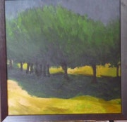 Alley trees 2, in Cyprus. Roger Hallett