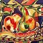 Fruit - original painting - Jacqueline_Ditt. Universal Arts Galerie Studio Gmbh