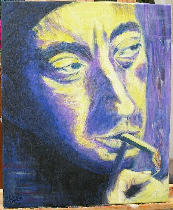 Serge Gainsbourg Portrait. Patricia Vivier -Robert Patricia Vivier Robert » Pat V »
