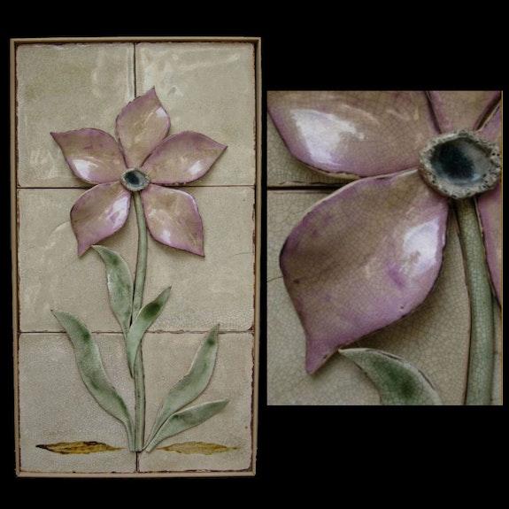 Violet flower. Isabel Minaya Isabel Minaya