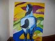 Motiv aus «der blaue Reiter».