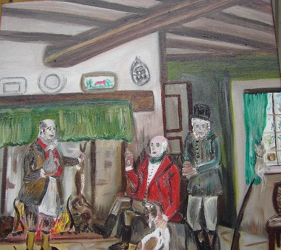Hunting Party. Josee Josée Van De Caeyseele