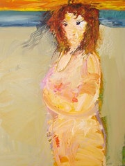Melted proud woman # 3.. Andrey Bogoslowsky