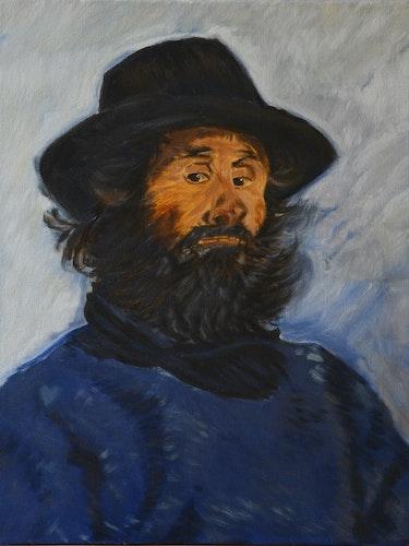 Retrato de poli (copia después de Claude Monet). Josi
