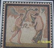 Römisches Mosaik. Mariem Hamrouni