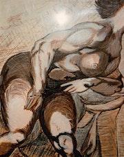 Nude muskuläre. Isabelle Zachary
