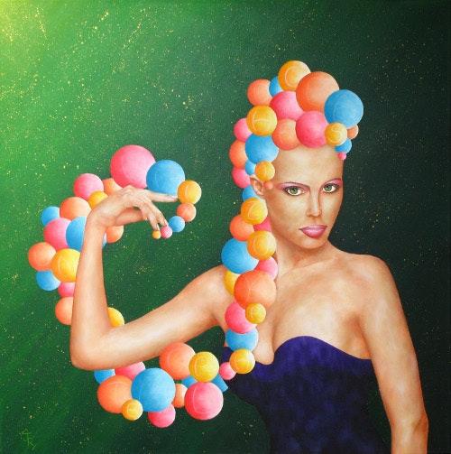 «Anse mble» - Portrait Femme. Julien R. Julien Raboud