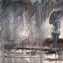 » Patience Orageuse » - Peinture - Technique Mixte. Julien Raboud