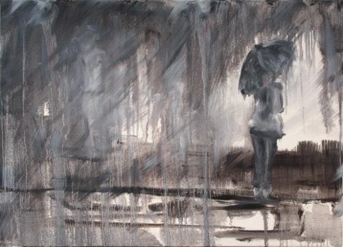 » Patience Orageuse » - Peinture - Technique Mixte. Julien R. Julien Raboud