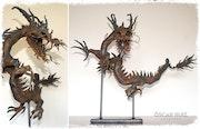 Dragón métalico.