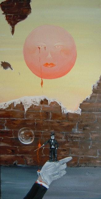 Solitude muette… Charlot bonheur.. Chantal Roussel Roggia Chantal Roussel Roggia