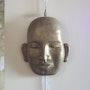 Masque de Bouddha. Atelier Terre Voyageuse