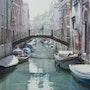 Un pont pour un rendez-vous à Venise. Thierry Duval