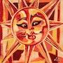 Illusion Soleil - peinture originale - Jacqueline_Ditt. Universal Arts Galerie Studio Gmbh