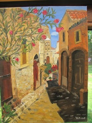 Lane Monemvasia (Italy).