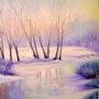 Entre neige et glace. Marie Thérèse Wininger