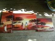 Afrikanischen Landschaft. G M R