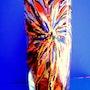 Glass vase!. Josée Van De Caeyseele
