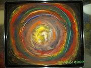 Le grand cercle multicolor.