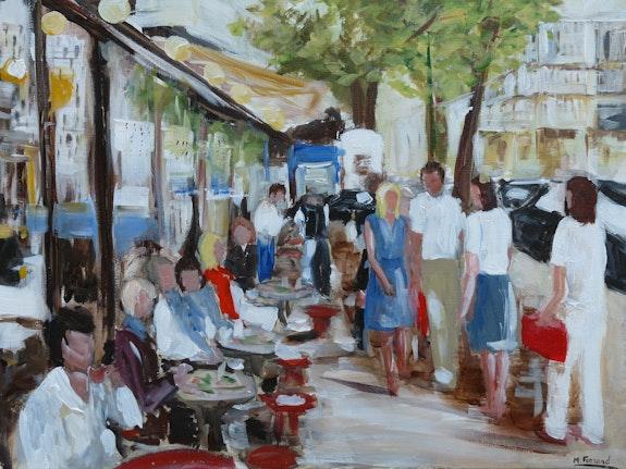 In Paris.  Marie Ferrand