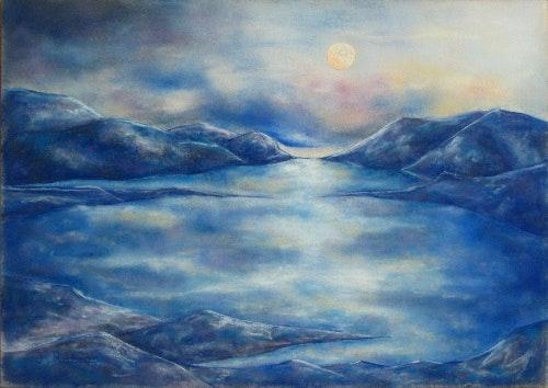 """""""Iceberg III"""" - Landschaft - Pastel. Julien R. Julien Raboud"""