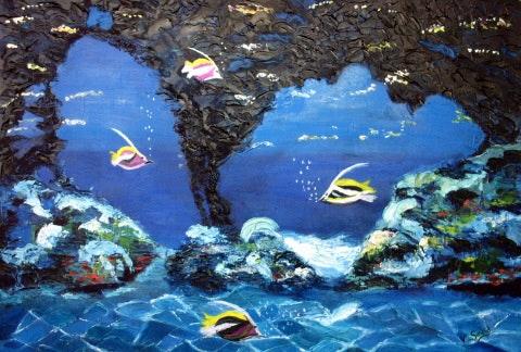 El fondo del mar. V Audibert Valérie Audibert