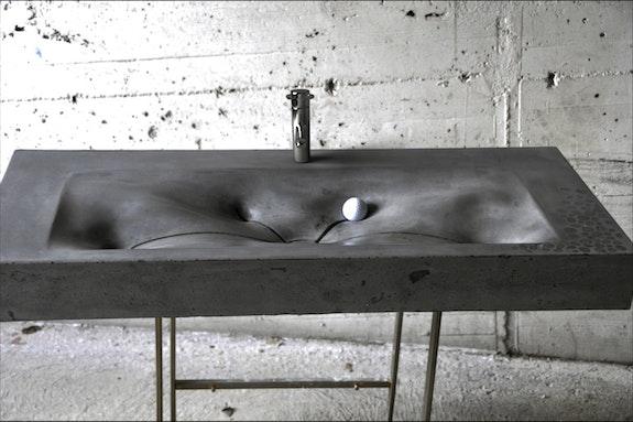 Sink-Design Hochleistungsbeton, einziges Modell. Man Design Man Design