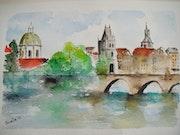 Pont Charles, Prague.