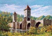 Cahors - the bridge Valentre.