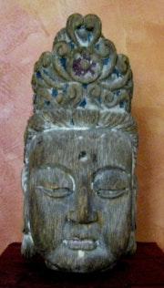 Guan-yin Kopf des Lotus. Dragonasie Sarl