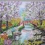 Jardin japonais. Christian Thiefaine