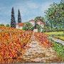 Vignes en automne. Christian Thiefaine