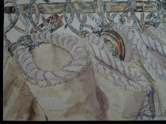 Voiles de vieux gréments. Sylvie Gourmelon Sylvie-Gourmelon
