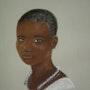 Femme masaï. Joelle Bouriel