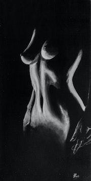 Noir & Blanc - nu de femme -. Jo-Elle