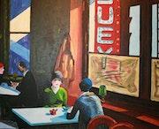 D'après Edward Hopper.