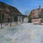 Bâtiments de ferme. Martine Mourey Antipode