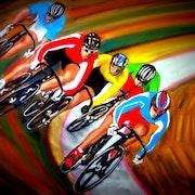 Les Cycl'Olympiques !. Bernard Sannier