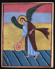 L'ange à la meule. Pierre François